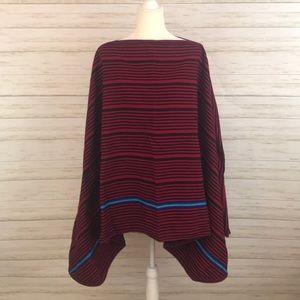 Jackets & Blazers - Vintage Mexican Textile Boho Poncho